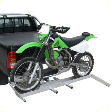 'SlipStream' Alloy Motorbike Carrier with Ramp & Wheel Lock